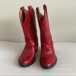 Old West Toddler Girl Cowboy Western Boots Sz 9